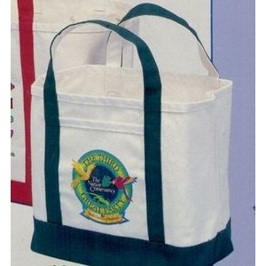 "Large Natural Canvas Ice & Coal Bags (13""x12""x6"")"